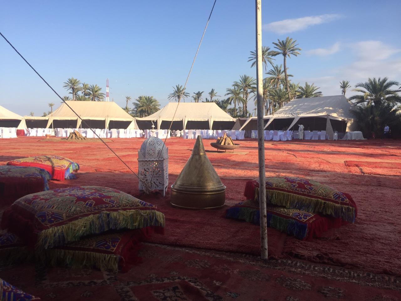 Soirée exclusive à la Palmeraie de Marrakech