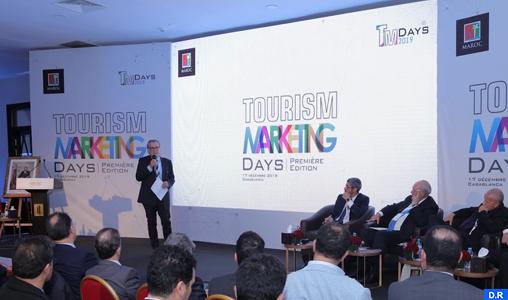 """Rabat- La première édition des """"Tourism Marketing Days"""", tenue mardi à Casablanca à l'initiative de l'Office national marocain du tourisme (ONMT) et en partenariat avec la Confédération nationale du tourisme (CNT), avec la participation d'une centaine d'opérateurs publics et privés et de représentants associatifs, a marqué une nouvelle manière de collaboration entre l'ONMT et les professionnels du secteur"""